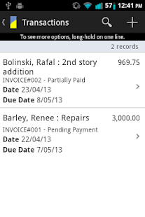 MobileBiz Co – Invoice App - screenshot thumbnail