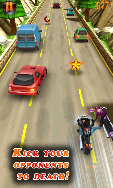 Deadly Moto Racing - screenshot