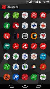 Steelicons Multilauncher Theme v5.0