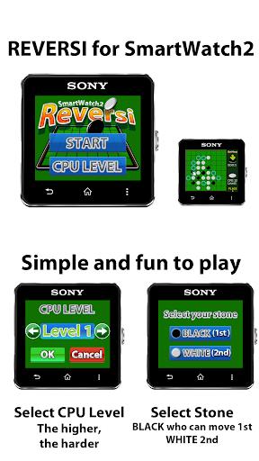 REVERSI for SmartWatch2