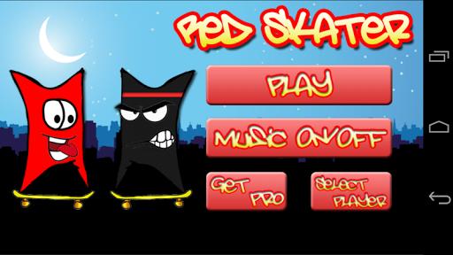 Red Skater