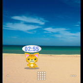 Neko-chan Clock