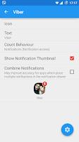 Screenshot of Notifyer+ Unread Count