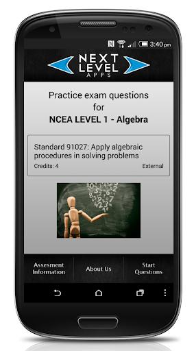 NCEA Algebra Trial