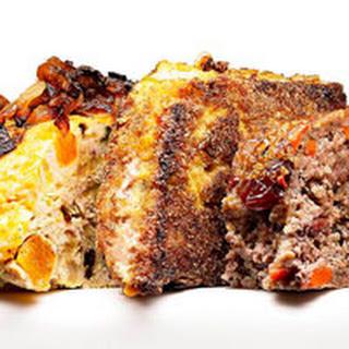 Fried Pork and Tomatillo Meatloaf.
