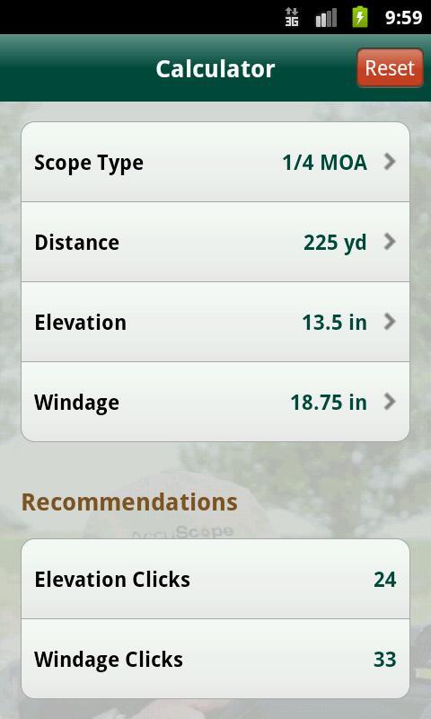 AccuScope Standard- screenshot