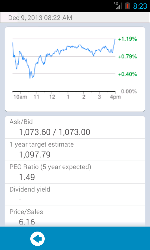 Stock Exchange lite - screenshot