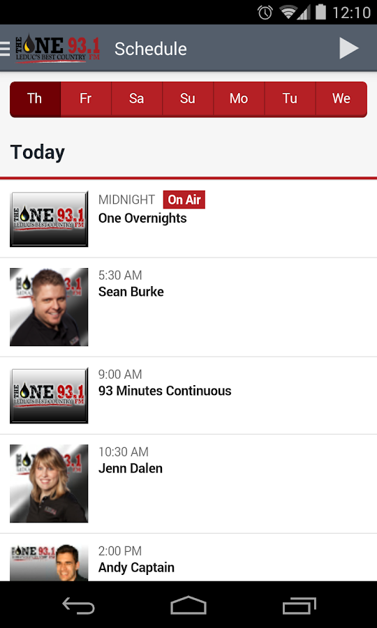 The One 93.1- screenshot