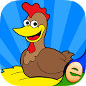 Farm Games Animal Puzzles for Kids Toddler Apps icon