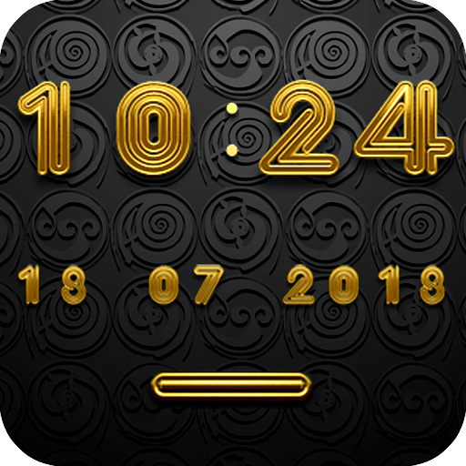 DISCO Digital Clock Widget 生活 App LOGO-硬是要APP