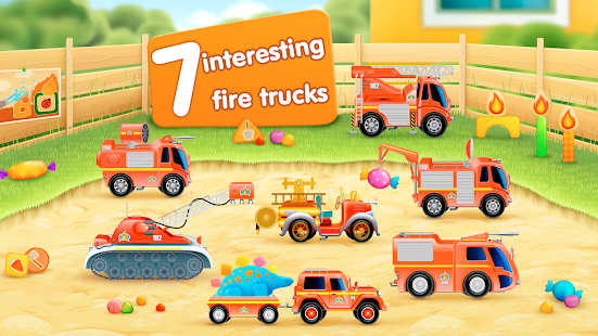 Firetrucks: rescue for kids Screenshot 11