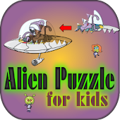 Alien Puzzle for Kids