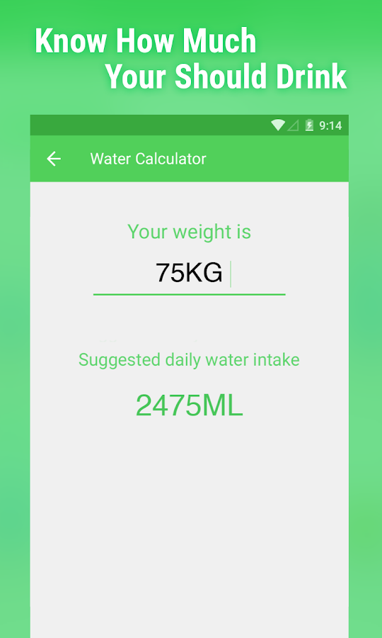 Water Your Body - screenshot
