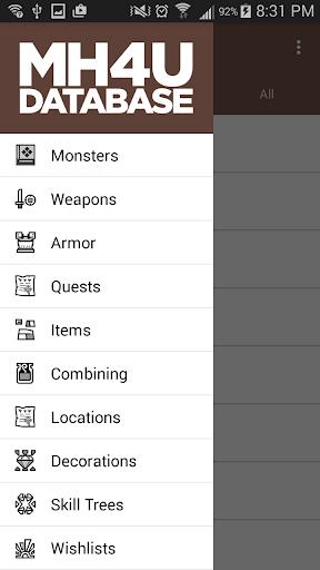 MH4U Database