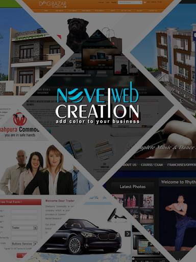 Novel Web Creation