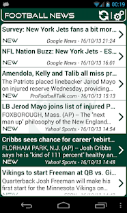 New York J. Football News - screenshot thumbnail