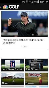 Golf Channel Mobile - screenshot thumbnail