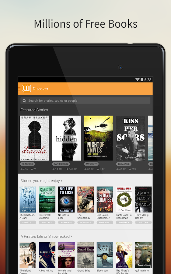 Free Books & Stories - Wattpad - screenshot