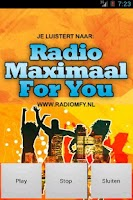 Screenshot of radiomfy.nl