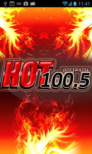 【免費娛樂App】Hot 100.5 FM-APP點子