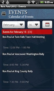 Ron Paul 2012 Election - screenshot thumbnail