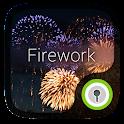 Fireworks GO Locker Free Theme icon