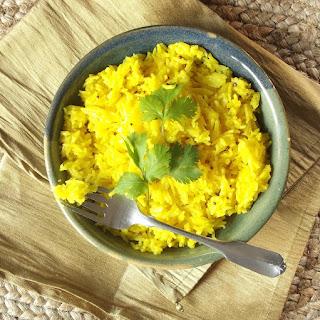 Lemon Ginger Basmati Rice.