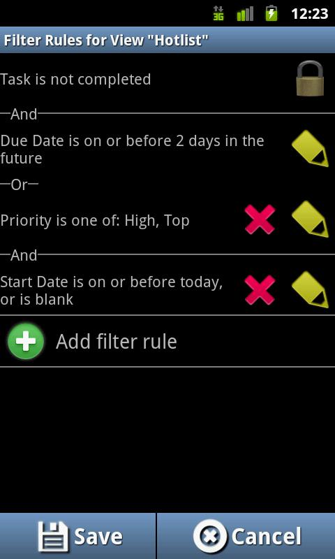 Ultimate To-Do List - screenshot