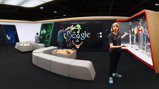 Google Shop at Currys VR Tour screenshot 3