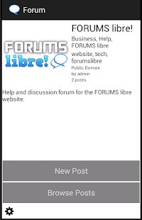 Forums Libre!- screenshot thumbnail