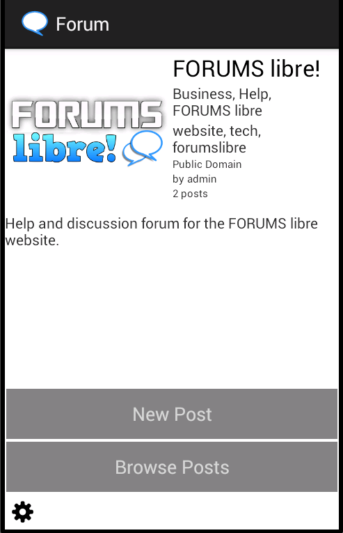 Forums Libre!- screenshot