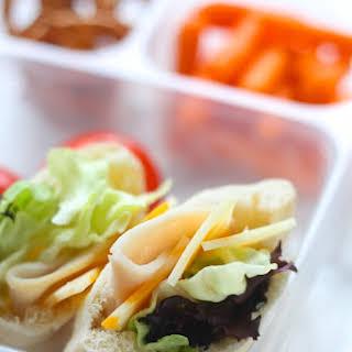 Mini Salad Pita Pockets.