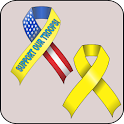 Yellow Ribbon doo-dad icon