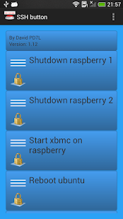 SSH button- screenshot thumbnail