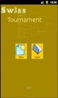 Screenshot of Swiss Tournament