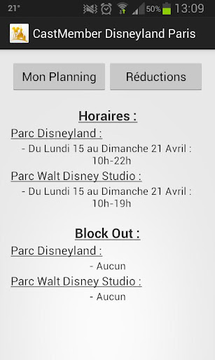 CastMember Disneyland Paris