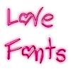 Free Love Fonts