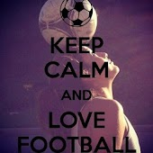 Keep Calm And Play FootBALL HD