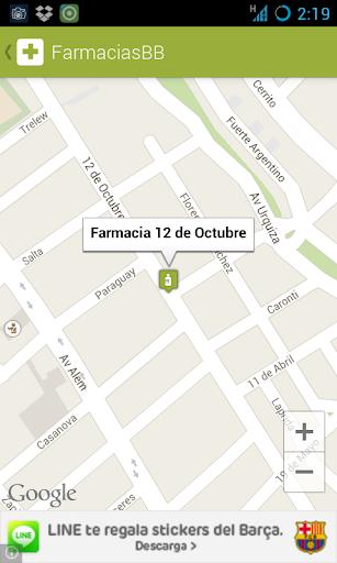 【免費醫療App】Farmacias de Bahía Blanca-APP點子