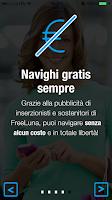 Screenshot of FreeLuna Social WiFi
