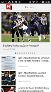 MassLive.com: Patriots News- screenshot thumbnail
