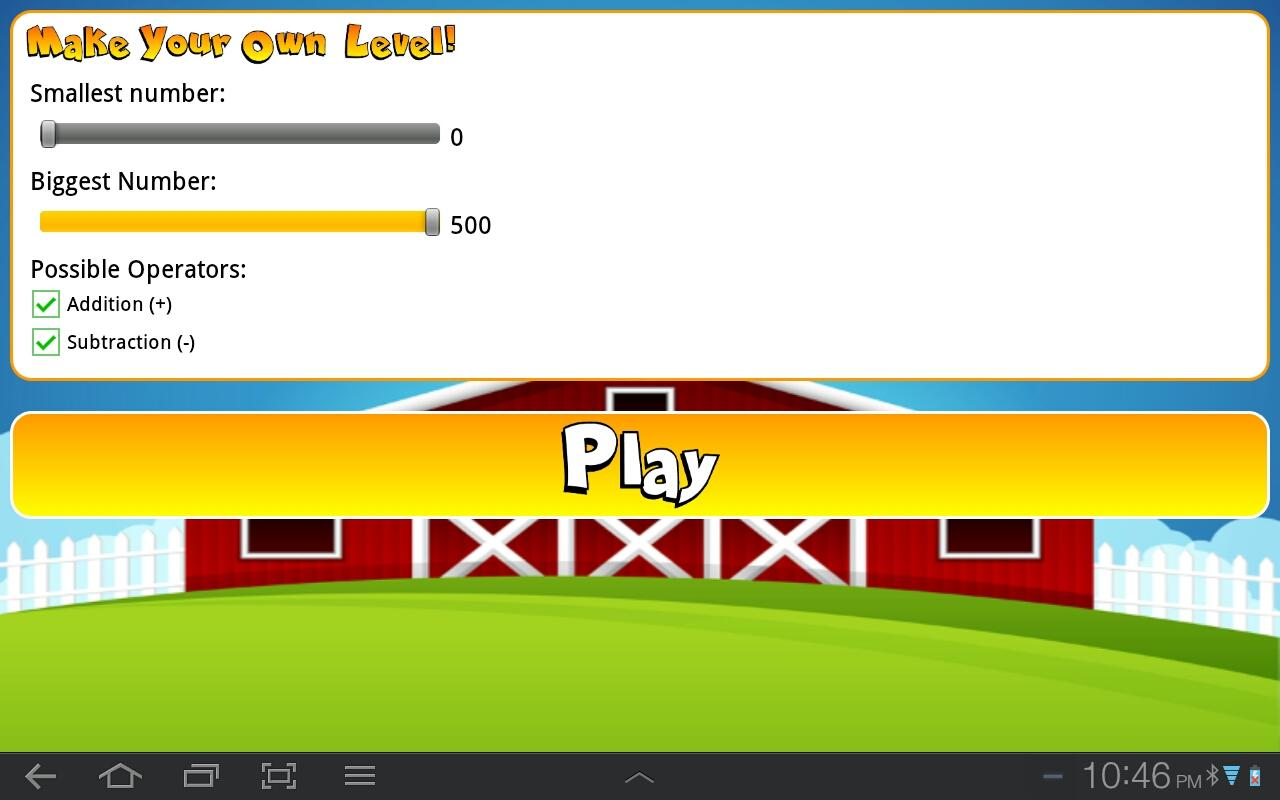 First Grade Math Challenge- screenshot