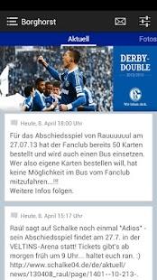 Fanclub Blau-Weiss Borghorst - screenshot thumbnail