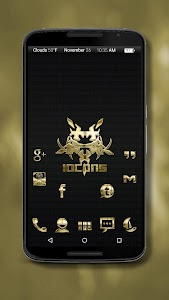 Iocons Gold - Icon Pack v3.2.4.1