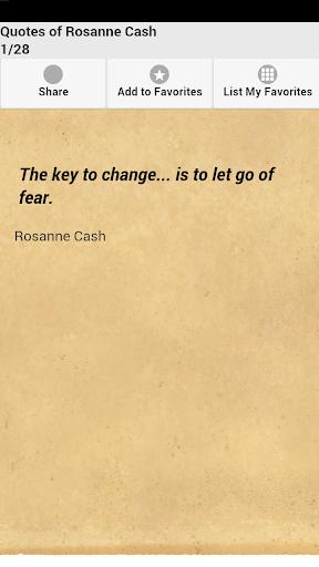 Quotes of Rosanne Cash