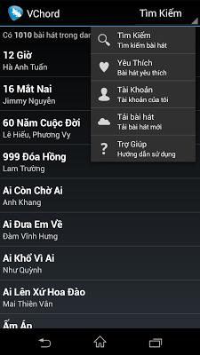 Hợp Âm VChord - Hop Am Guitar - screenshot