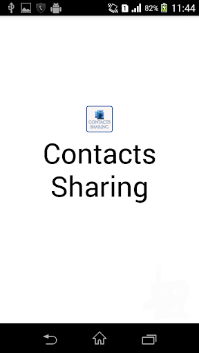 Contacts Sharing
