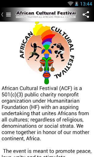 African Cultural Festival