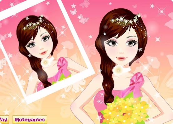 Bridal Hairdresser Games - screenshot