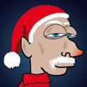Lazy Santa icon